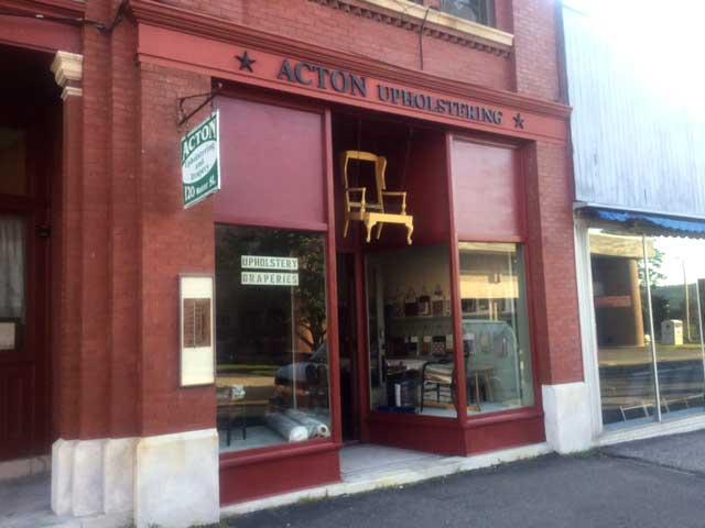 Acton Upholstering Co. serving Torrington & northwest Connecticut